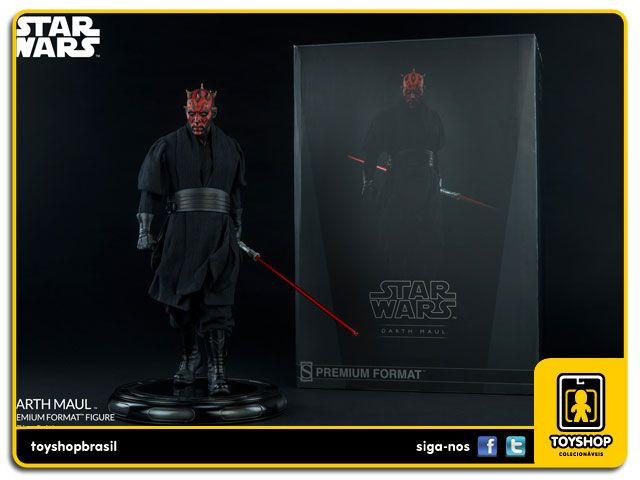 Star Wars Darth Maul Premium Format  Sideshow Collectibles