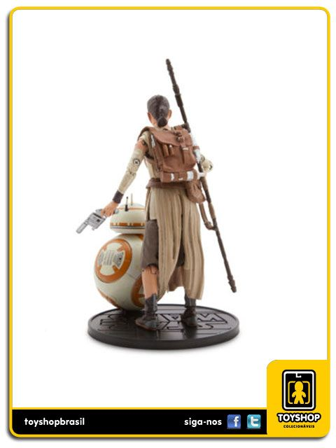 Star Wars Elite Series Rey and BB-8  Diecast  Disney Store