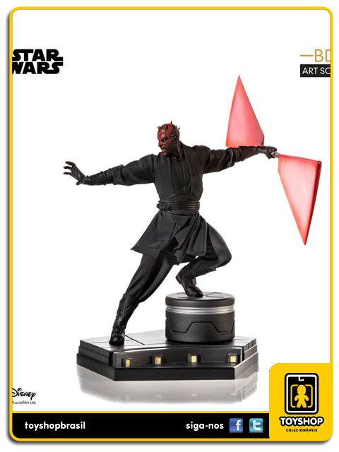 Star Wars Ep. I Darth Maul - BDS  1/10 Art Scale Iron Studios
