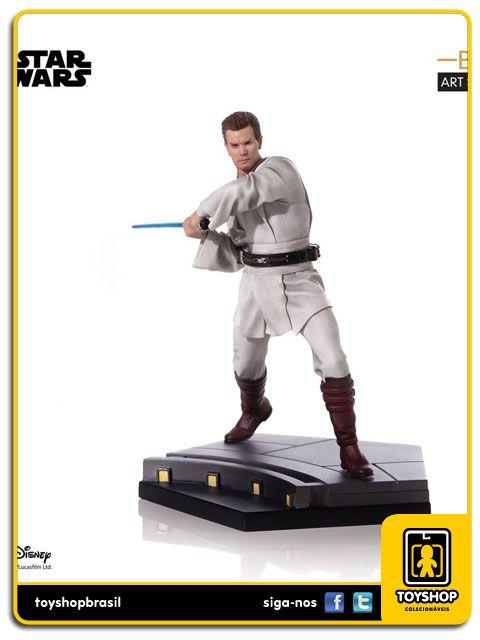 Star Wars Ep. I Obi-Wan Kenobi  - BDS 1/10 Art Scale Iron Studios