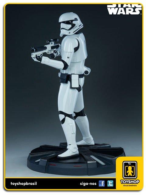 Star Wars First Order Stormtrooper  Premium Format  Sideshow