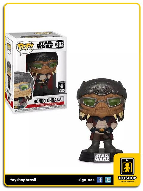 Star Wars Hondo Ohnaka 302 Pop Funko