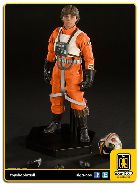 Star Wars Luke Skywalker Red Five X-Wing Pilot Sixth Scale 1/6  Sideshow