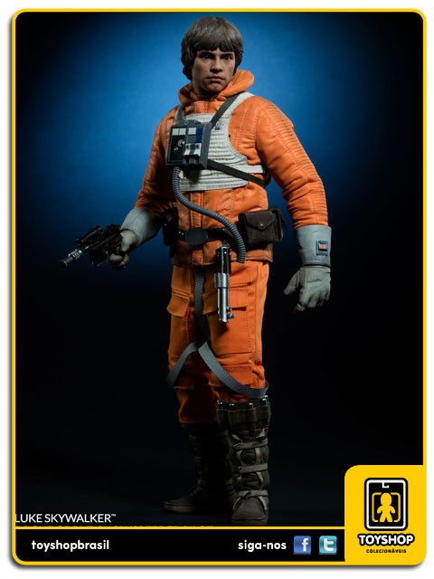 Star Wars Luke Skywalker Rogue Group Snowspeeder Pilot Sixth Scale 1/6  Sideshow