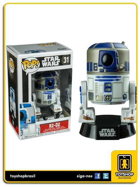 Star Wars R2 D2 31 Pop Funko