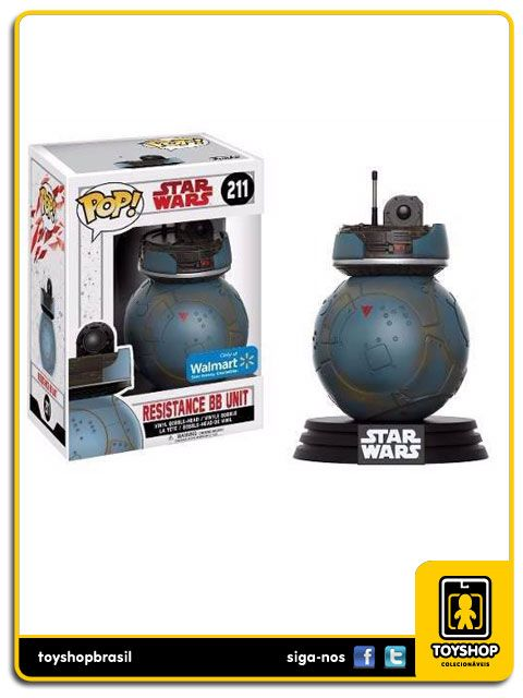Star Wars Resistance BB Unit 211 PopFunko
