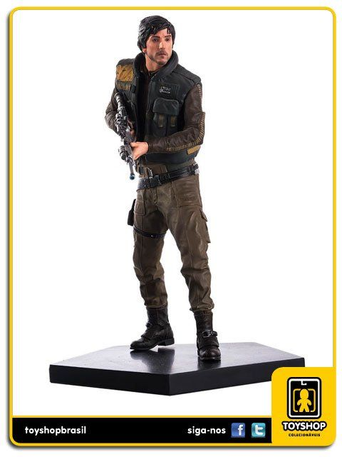 Star Wars Rogue One Cassian Art Scale 1/10 Iron Studios
