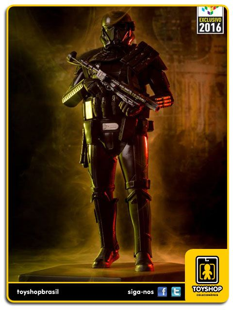 Star Wars Rogue One Combat Gear Death trooper CCXP16  1/10  Iron Studios