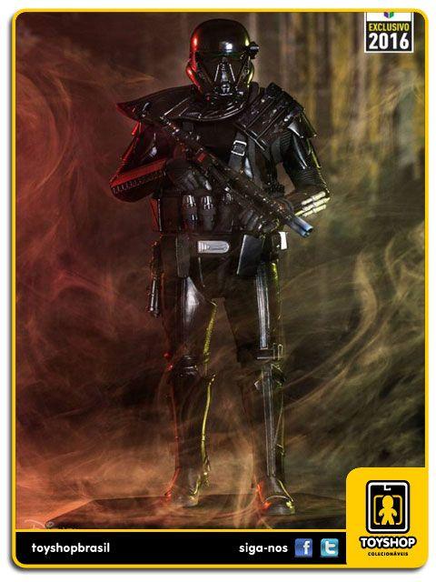 Star Wars Rogue One Combat Gear Death trooper CCXP16  1/10  Iron Studios