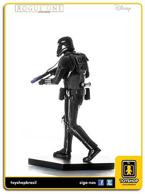 Star Wars Rogue One Death trooper 1/10  Iron Studios
