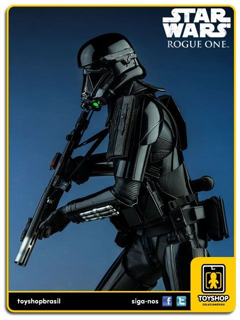 Star Wars Rogue One Deathtrooper Specialist Premium Format  Sideshow Collectibles