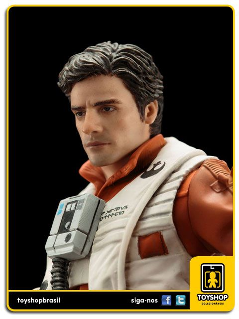 Star Wars The Force Awakens Poe Dameron & BB-8 Pack 1/10 ArtFX Kotobukiya