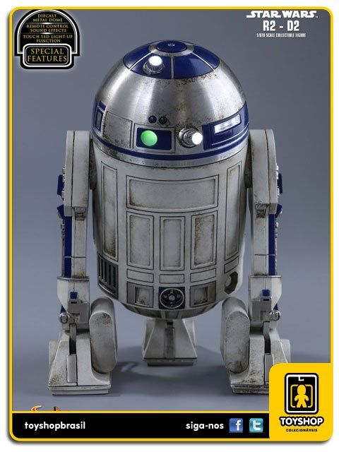 Star Wars The Force Awakens R2-d2 1/6 Hot Toys