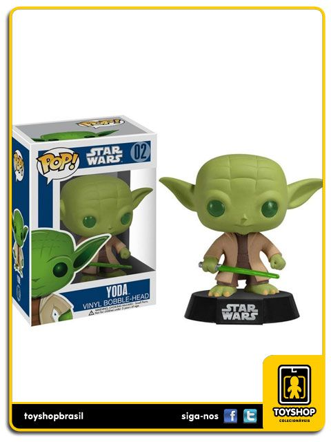 Star Wars  Yoda 02 Pop Funko