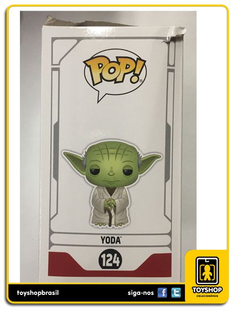Star Wars Yoda Sdcc 2019 124 Pop Funko