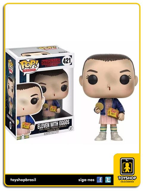 Stranger Things  Eleven With Eggos  421 Pop Funko