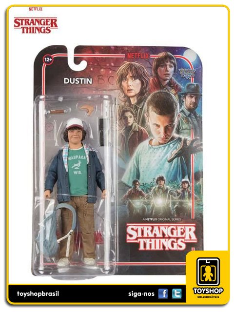 Stranger Things Netflix Dustin Mcfarlane Toys