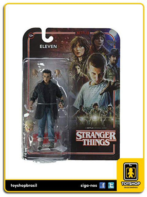 Stranger Things Netflix Punk Eleven Mcfarlane Toys