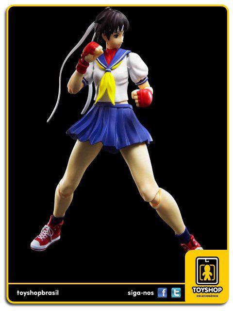 Street Fighter 30th Anniversary S.H. Figuarts Sakura Kasugano Bandai