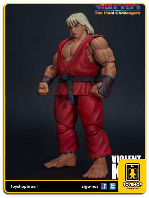 Street Fighter II Violent Ken 1/12 Storm Collectibles