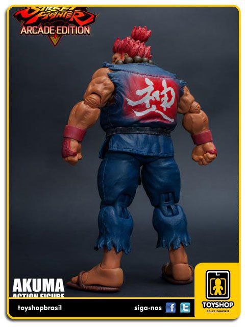 Street Fighter V  Akuma 1/12 Storm Collectibles