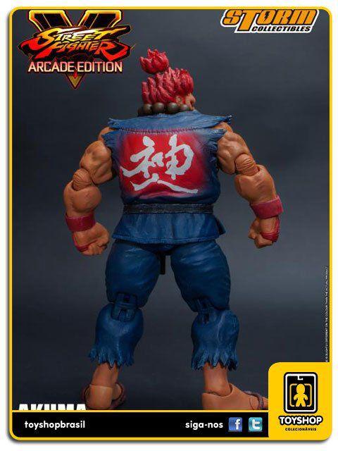 Street Fighter V  Akuma 1/12 Storm Collectibles
