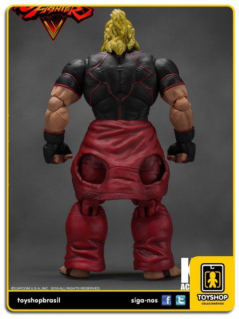 Street Fighter V  Ken 1/12 Storm Collectibles