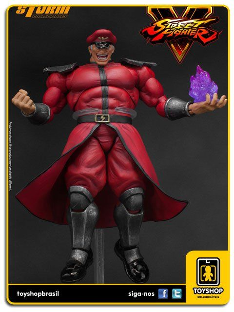 Street Fighter V  M Bison  1/12 Storm Collectibles