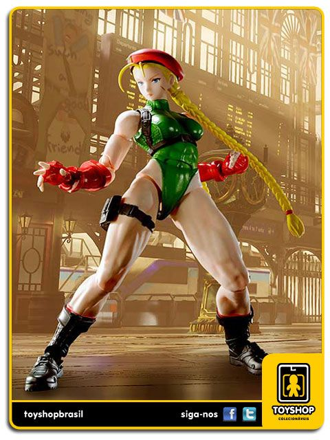 Street Fighter V S.H. Figuarts Cammy Bandai