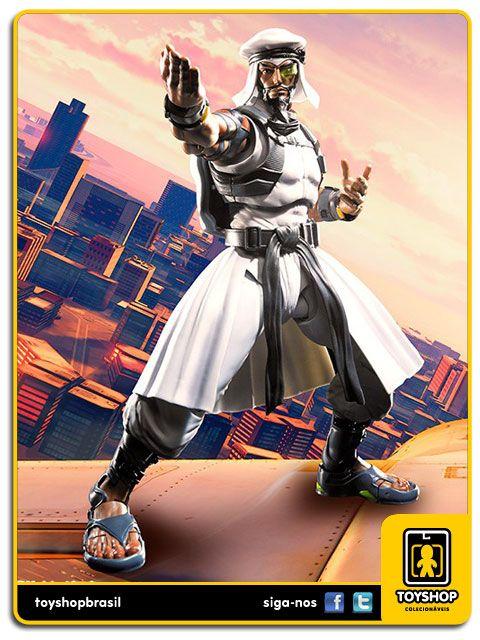 Street Fighter V S.H. Figuarts Rashid  Bandai