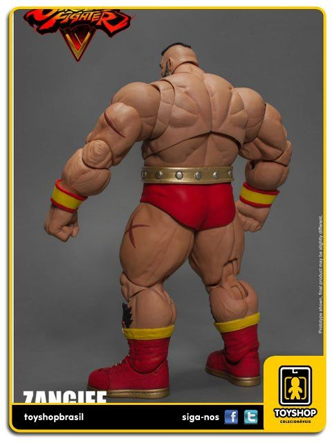Street Fighter V  Zangief 1/12 Storm Collectibles