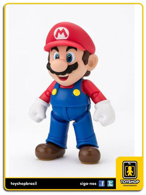 Super Mario Bros S.H. Figuarts Mario New Package  Bandai