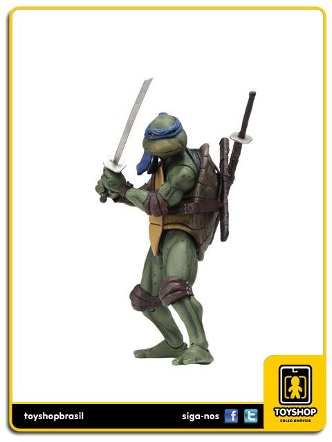 Teenage Mutant Ninja Turtles 1990 Leonardo Neca
