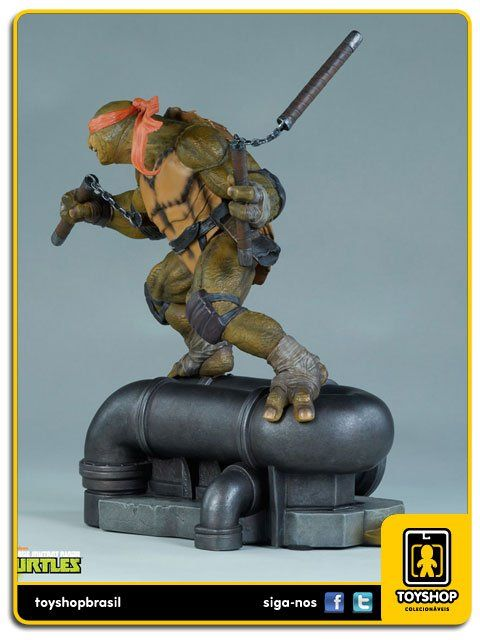 Teenage Mutant Ninja Turtles Michelangelo  1/6 Statue Sideshow Collectibles