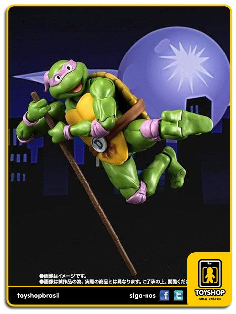 Teenage Mutant Ninja Turtles S.H. Figuarts: Donatelo - Bandai
