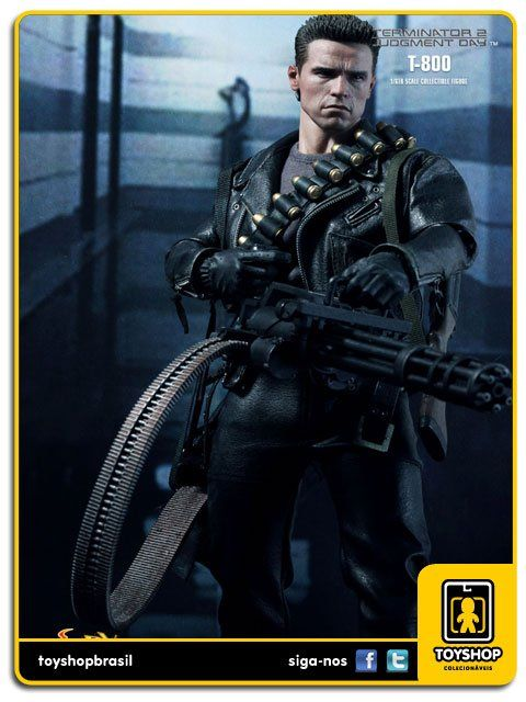 Terminator 2 Judgment Day T-800 Dx 10 1/6 Hot Toys
