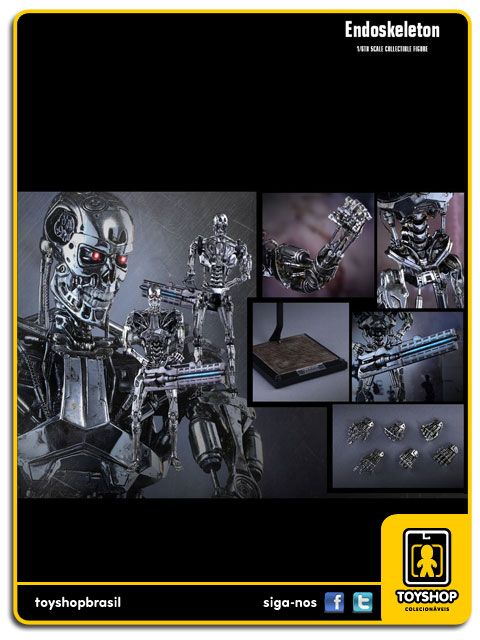 Terminator Genisys Endoskeleton 1/6 Hot Toys