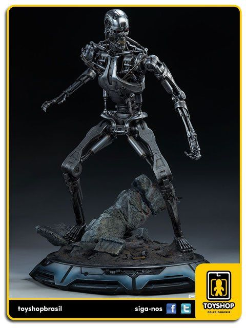Terminator T-800 Endoskeleton Maquette  Sideshow Collectibles