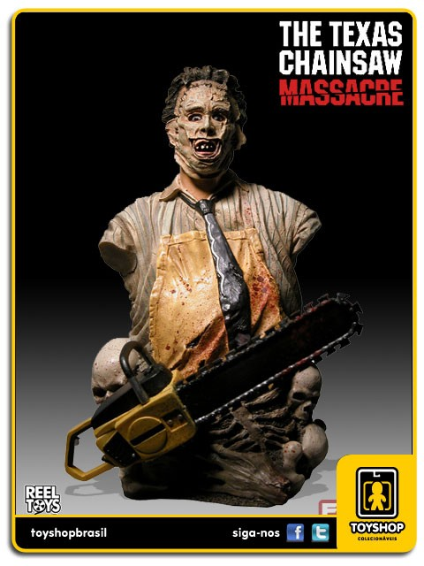 Texas Chainsaw Massacre Leatherface Mini Bust Neca