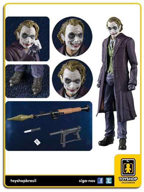 The Dark Knight S H Figuarts The Joker  Bandai