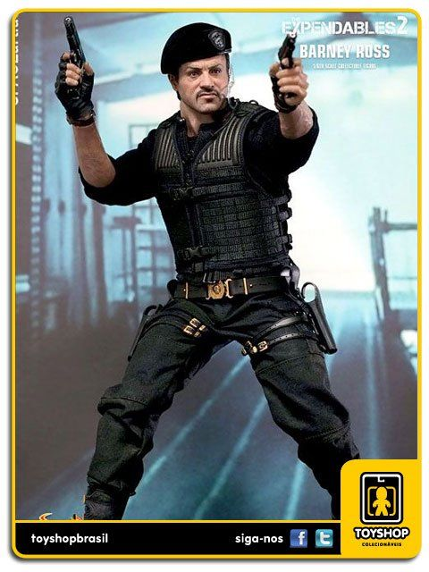 The Expendables 2 Barney Ross 1/6 Hot Toys