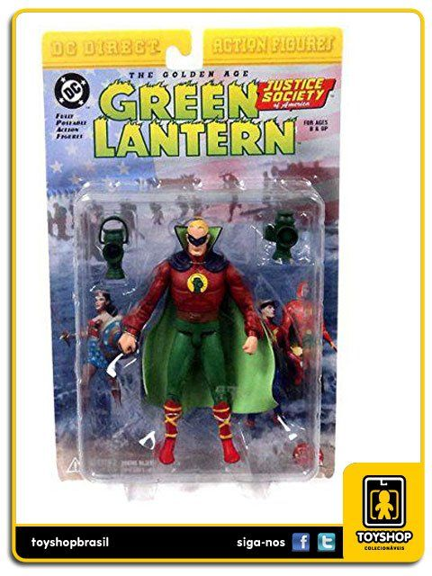 The Golden Age Green Lantern Alan Scott Dc Direct