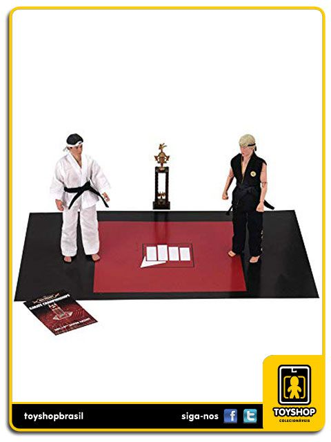 The Karate Kid Daniel & Johnny  2 Pack  Clothed Neca