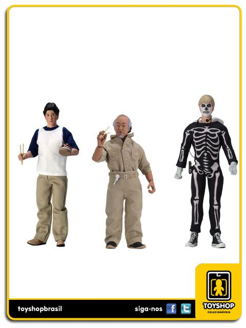 The Karate Kid Set 3 Figuras Clothed Neca