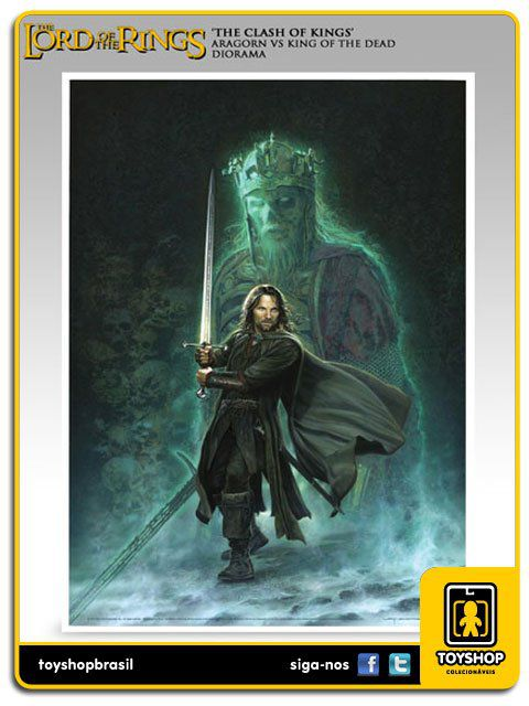 The Lord Of The Rings: The Clash of Kings  Aragorn VS The King of the Dead - Sideshow Collectibles