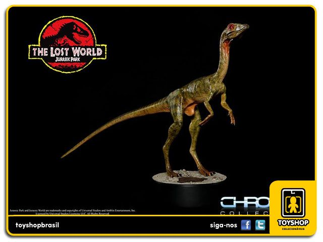 The Lost World Jurassic Park Compsognathus - 1/1 Statue Chronicle Collectibles