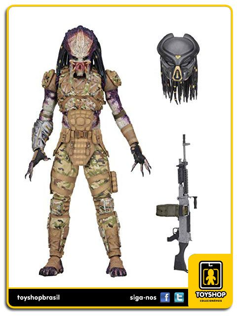 The Predator 2018 Ultimate Emissary 1 Predator Neca