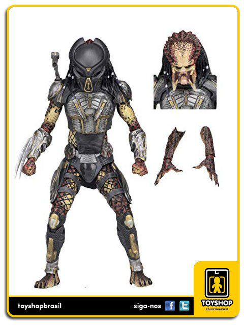 The Predator 2018 Ultimate Fugitive Predator Neca