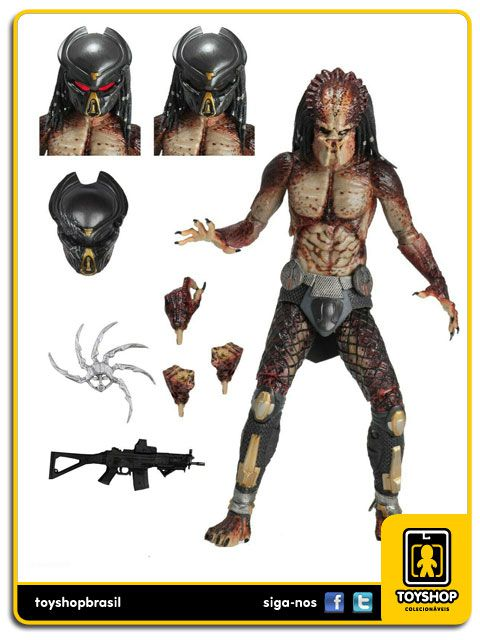 The Predator 2018 Ultimate Lab Escape Fugitive Predator Neca