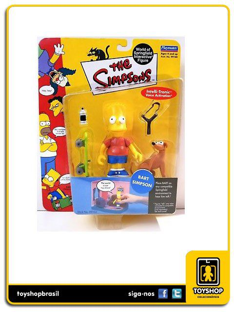 The Simpsons Bart Simpsons Playmates